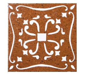 mattonelle in ceramica decoro classico