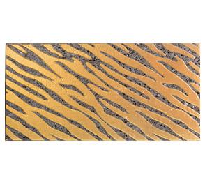 parete zebrata in pietra lavica, milano