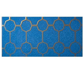 mattonelle azzurre per bagno, cucina, hotel, fabbrica
